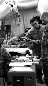 zarost żołnierza zawodowego